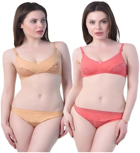 In Beauty Solid Push-up bra - 2 Lingerie Set