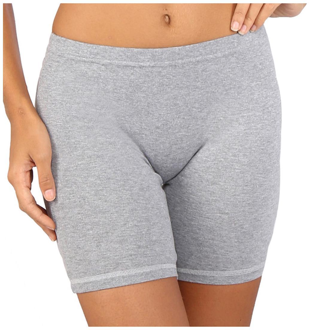Bralux Women Solid Sport shorts   Grey