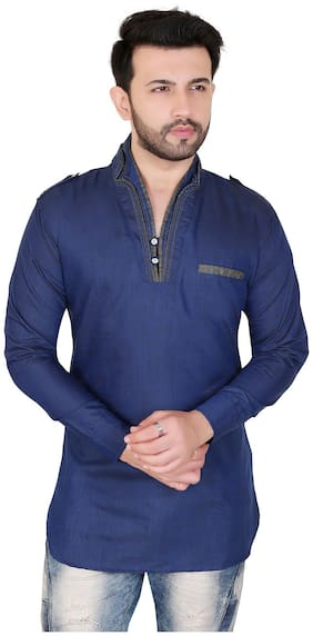 Brinley V-Neck Kurta For Mens