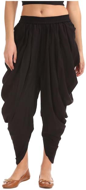 Rayon Solid Harem Pants