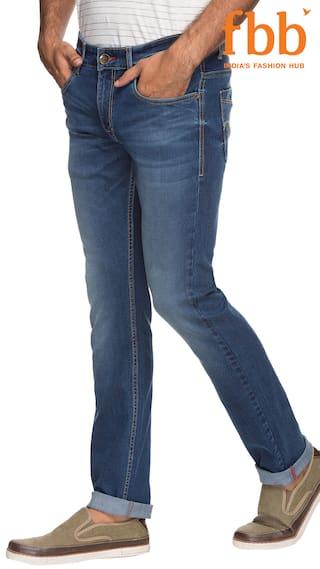 Buffalo Medium Stone Slim Jeans Fit Solid 6nviAwh