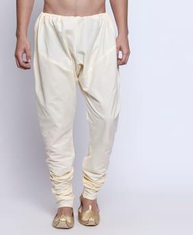Buffalo Men Solid Regular Cotton Pyjama (Beige)