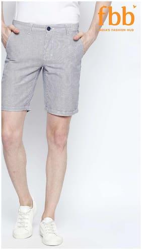 Men Striped Regular Shorts