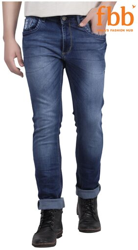 Buffalo Slim Fit Men's Blue Jeans