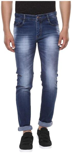 BUKKL Men's Stretchable Slim Fit Jeans