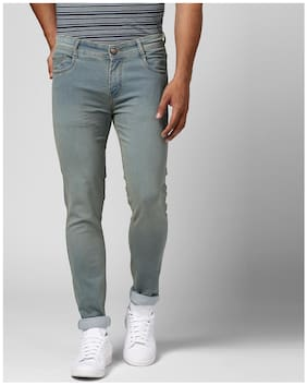 Men Slim Fit High Rise Jeans Pack Of 1