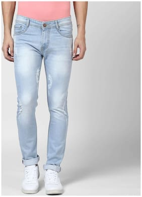 BUKKL Men Low rise Slim fit Jeans - Blue
