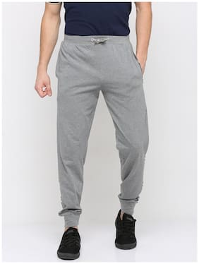 BULLMER Cotton Regular Fit Men Joggers Grey