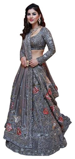 Net Festive;Wedding Lehnga Choli