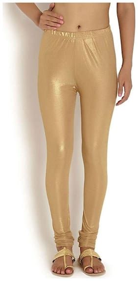 Dimpy Garments Blended Leggings - Brown