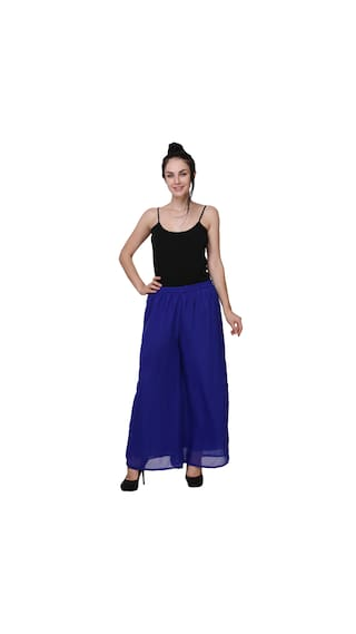 Lycra of Women For Pack 2 Palazzo BuyNewTrend Z6gqxwdRg