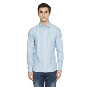 Byford by Pantaloons Men Regular Fit Casual shirt - Blue