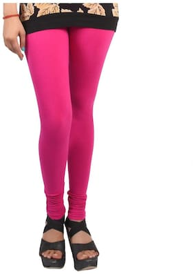 Caitlin Cotton Leggings - Pink