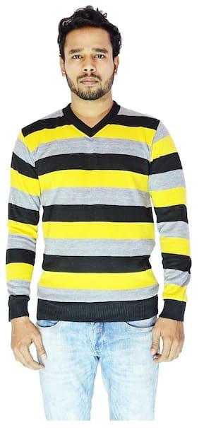 Calibro Men Wool Sweater - Multi