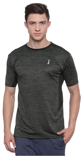 Campus Sutra Cool Gear Men's Odourfree Tshirt