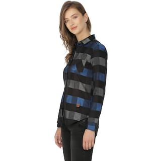 Women's Shirts Campus Checks Sutra Sutra Campus 6q7xnft