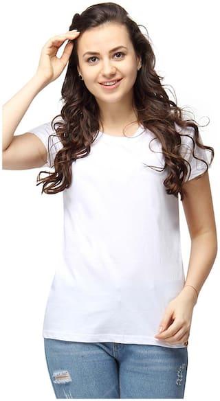 Campus Sutra Women Round Neck T-Shirt
