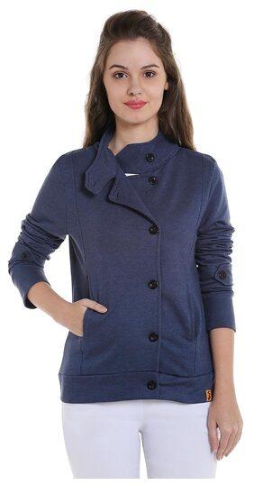 Campus Sutra Women's Plain Jacket