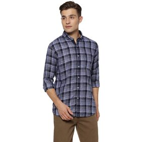Campus Sutra Men Regular Fit Casual shirt - Blue