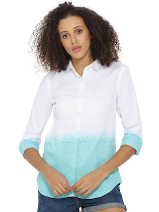 Sutra Spray Casual Campus Women's Shirt 6qwnp