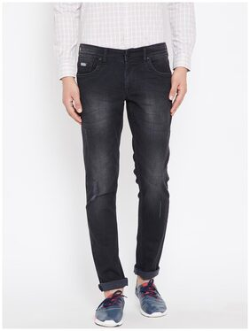Canary London Black Distressed Super Slim Fit Lycra Jeans