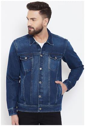 Men Denim Full Sleeves Jacket