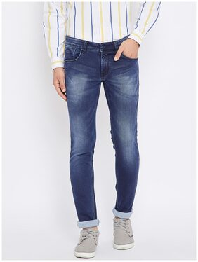 CANARY LONDON Men Mid Rise Skinny Fit ( Super Slim Fit ) Jeans - Blue