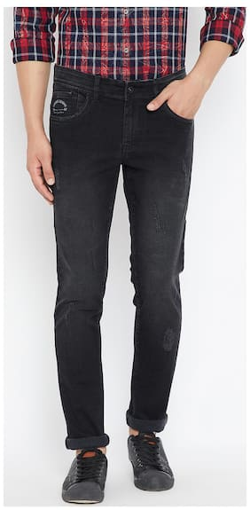 CANARY LONDON Men Mid rise Skinny fit Jeans - Black