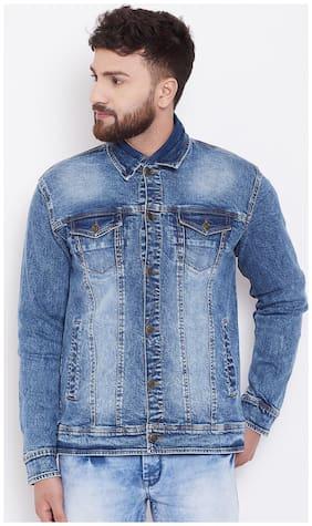 Men Denim Long Sleeves Jacket