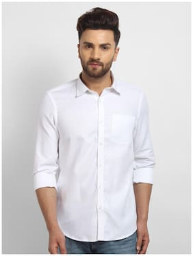cape canary Men Regular fit Formal Shirt - White