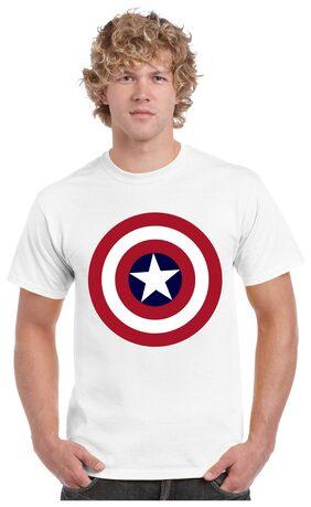 ecosoul Men Slim Fit Scoop Neck Printed T-Shirt - White
