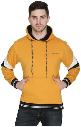 Caracas Men Yellow Hooded Sweatshirt