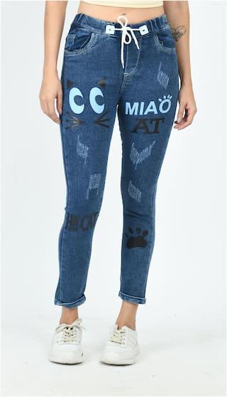 Jaunier Women Blue Slim fit Jeans