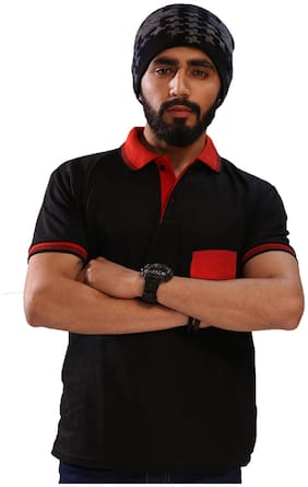 Men Polo Collar Pocket Styling T-Shirt Pack Of 1