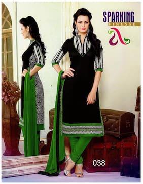 chanderi silk embroidered salwar suit