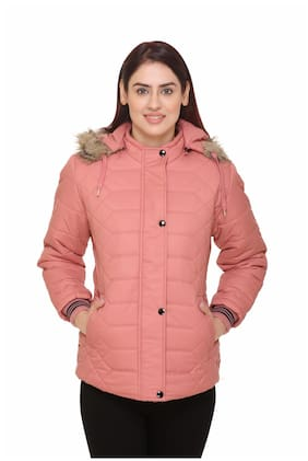 Chill Fighter Women Solid Regular Jacket - Pink