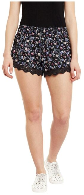 Chill Winston Floral Printed Women's Basic Short