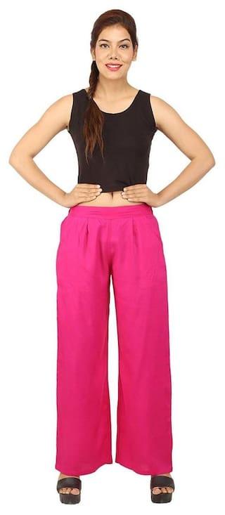 CHINMAYA Regular Fit Women's Pink Palazzo