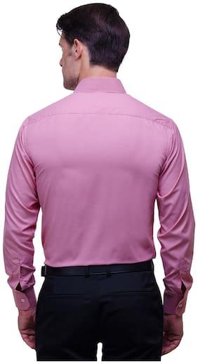 Chokore Men Slim Fit Formal Shirt - Pink