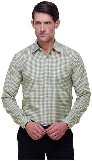 Chokore Men Slim fit Formal Shirt - Brown