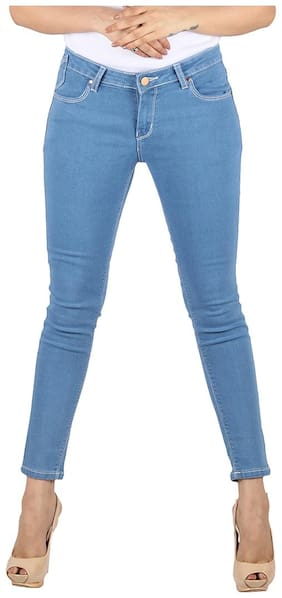 CIAO GRAZIA Women Blue Skinny fit Jeans