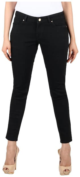 CIAO GRAZIA Women Black Skinny fit Jeans