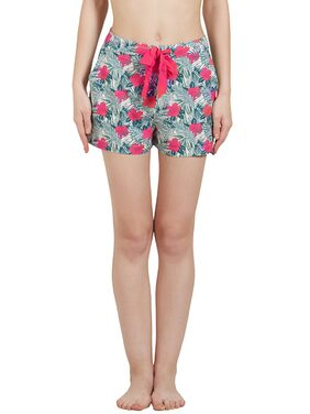 Classic Floral Print Shorts