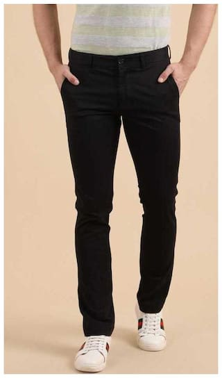 CLASSIO FASHION Men's Black Casual Trouser