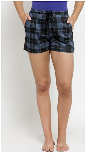 Women Cotton Regular Fit Shorts