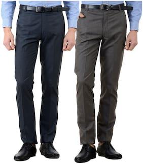 Men Slim Fit Formal Trouser