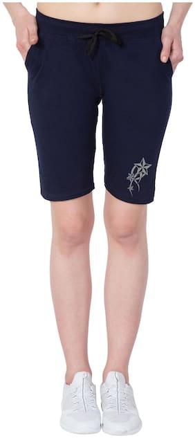 Women Cotton Slim Fit Shorts