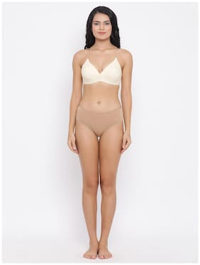 Solid Cotton Lingerie Sets ,Pack Of 2