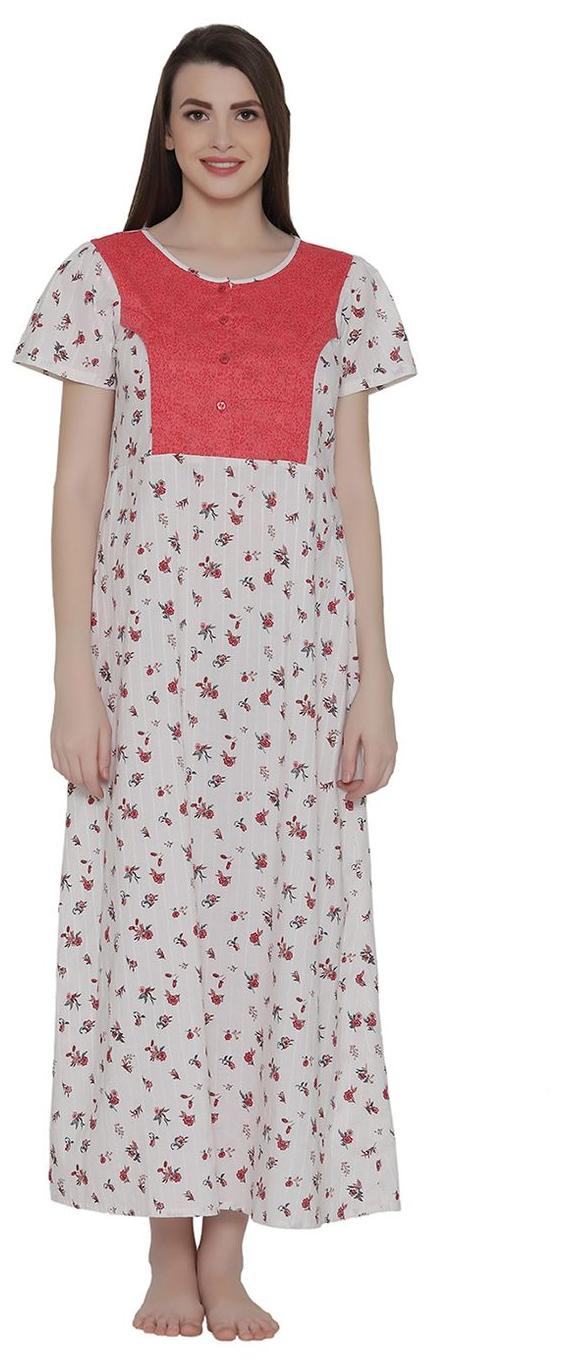 06d271c658e87 https://assetscdn1.paytm.com/images/catalog/product/. Clovia Cotton Night  Gown Printed ...