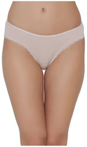 Clovia 1 Bikini Brief Solid Panty - Brown